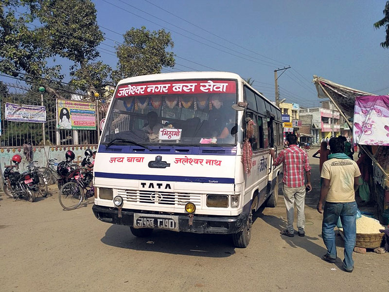 Business in Jaleshwar hit by unbalanced city transportation