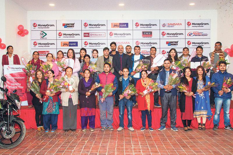 MoneyGram concludes its Dashain campaign