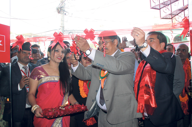 Prabhu Bank opens branch office in Lumbini