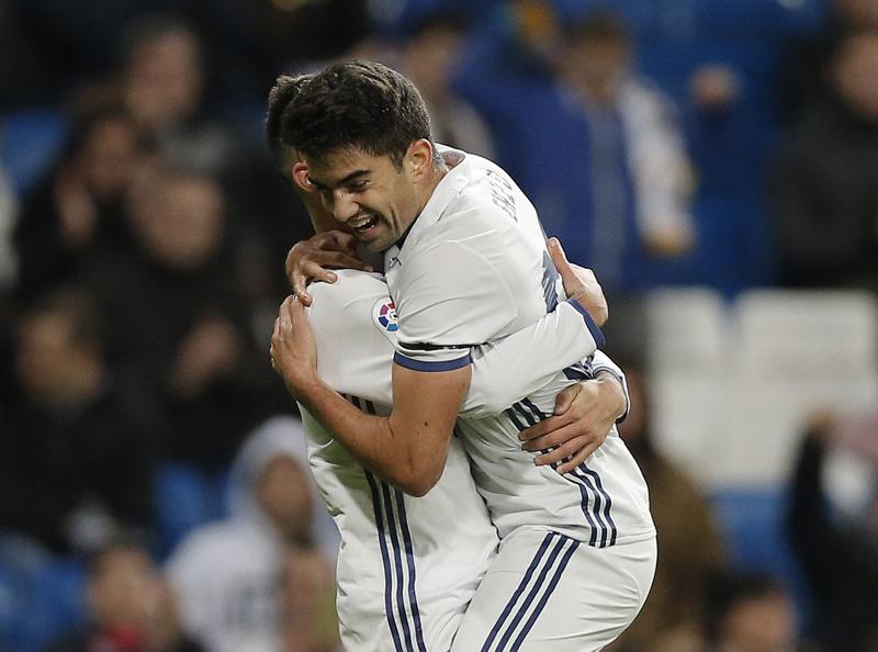 Zidane's son scores as Madrid routs Leonesa 6-1 in Copa