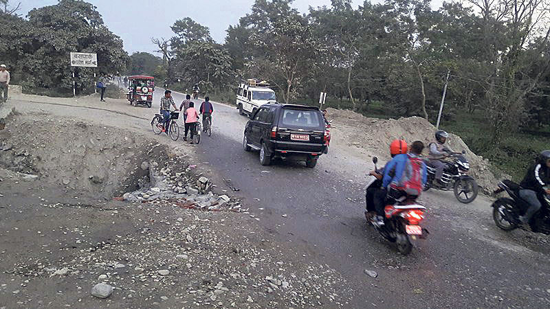 Road department not in hurry to fix accident-prone highway section
