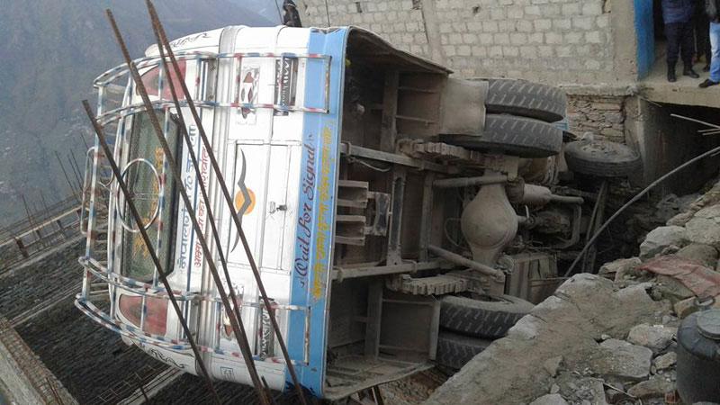12 injured in Kalikot bus accident