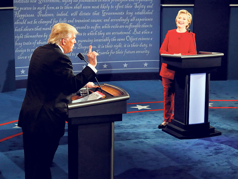 Job interview tips from the US presidential debates