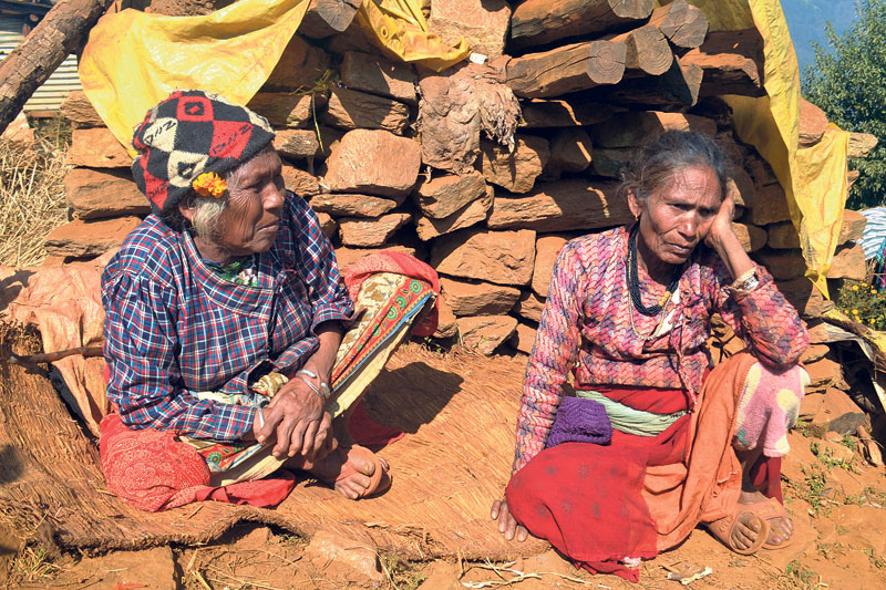 Quake victims in despair as harsh winter looms