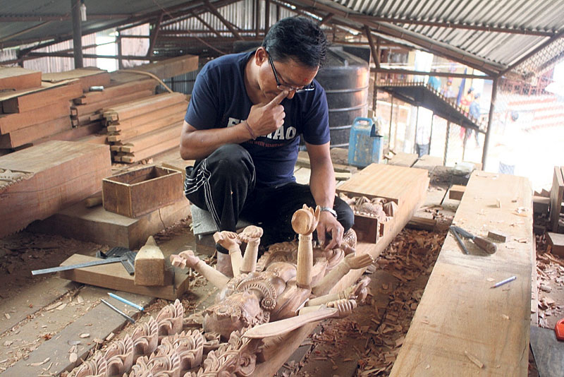 Manakamana Temple's reconstruction delayed in lack of wood