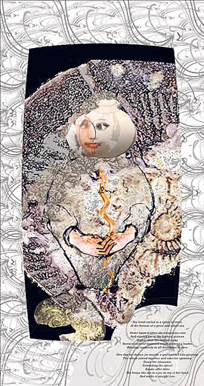 Artist's last paintings inspired by Lord Vishnu