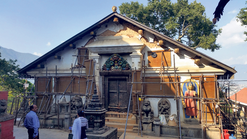 Swayambhu reconstruction delayed