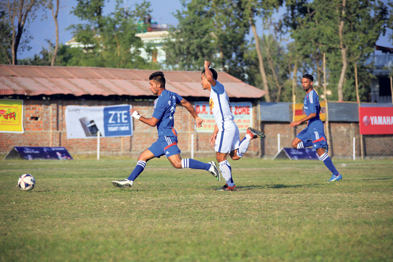 APF survives Jhapa scare, wins in shootout