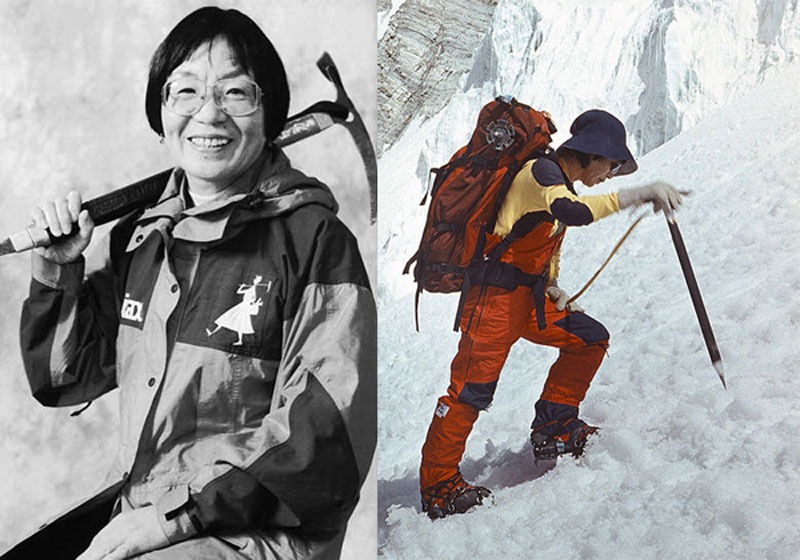 Tabei, first woman to scale Mt Everest, no more