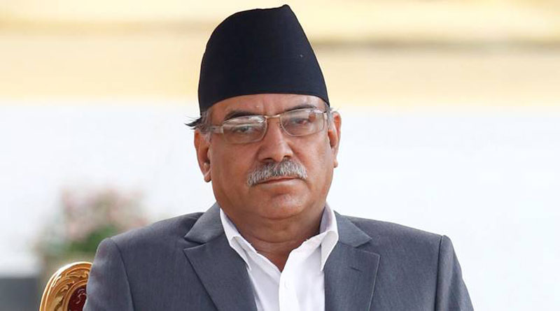 Dahal directs CPN (Maoist Center) lawmakers to support impeachment motion