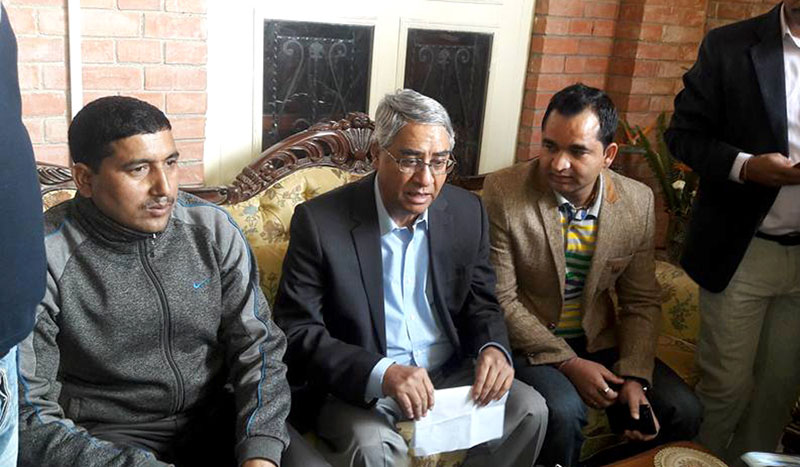 We are not with Lokman, we are with rule of law: Deuba