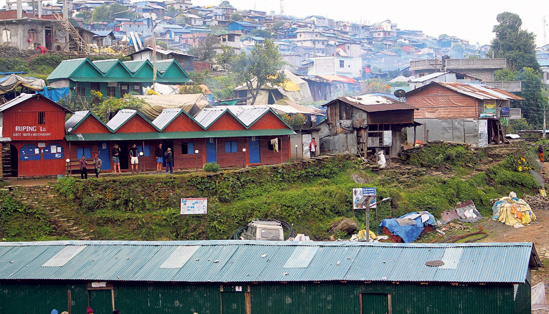 Barpak rising from the rubble