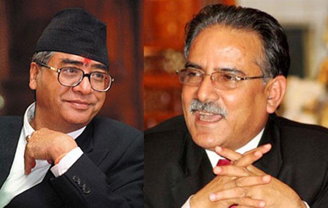 PM Dahal, Deuba hold talks on impeachment motion