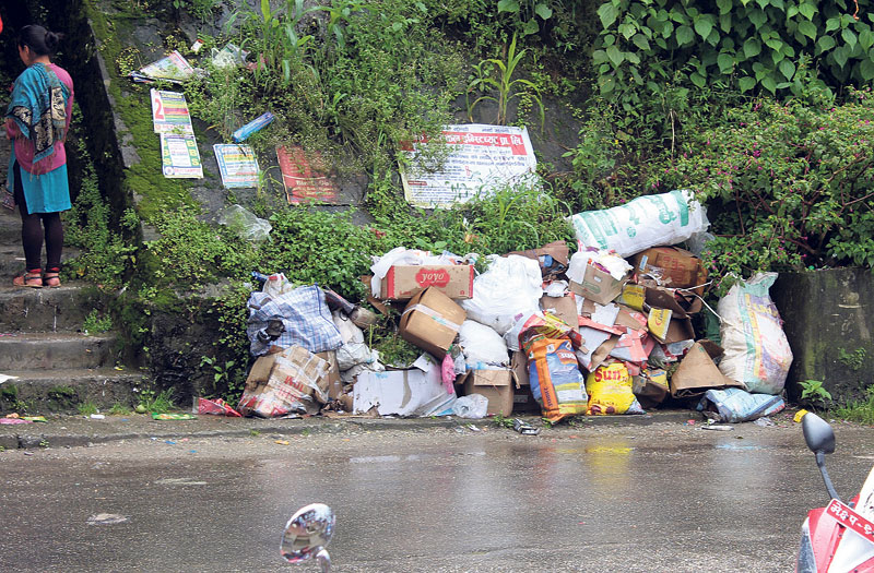 Waste management problem in Ilam