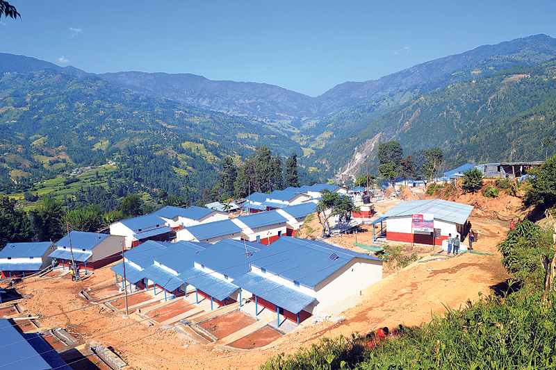 Dhurmus-Suntali to hand over model settlement to quake victims today