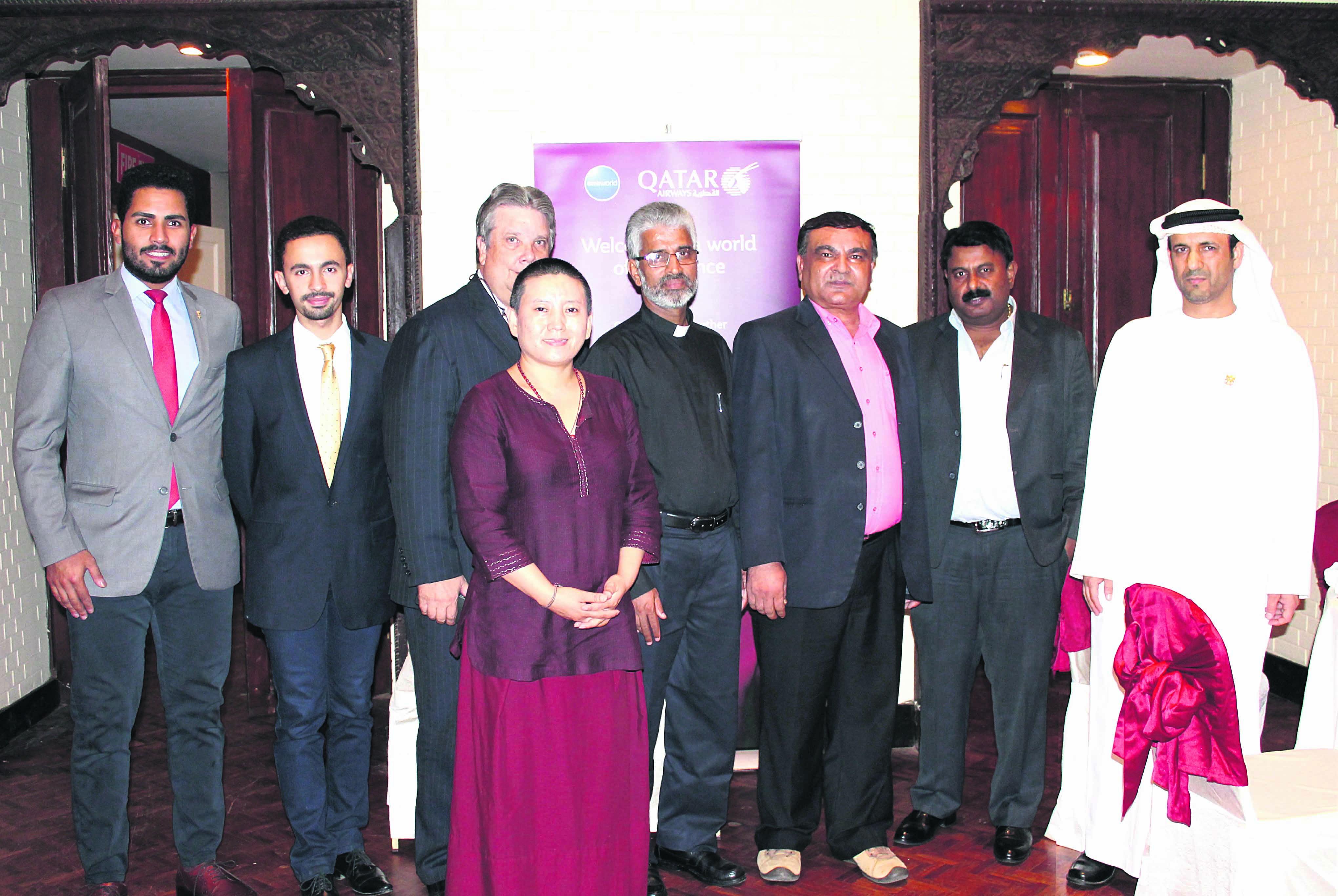 Qatar Airways hosts Ramadan dinner