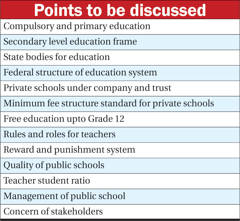 MoE to hold discussions for new education regulations