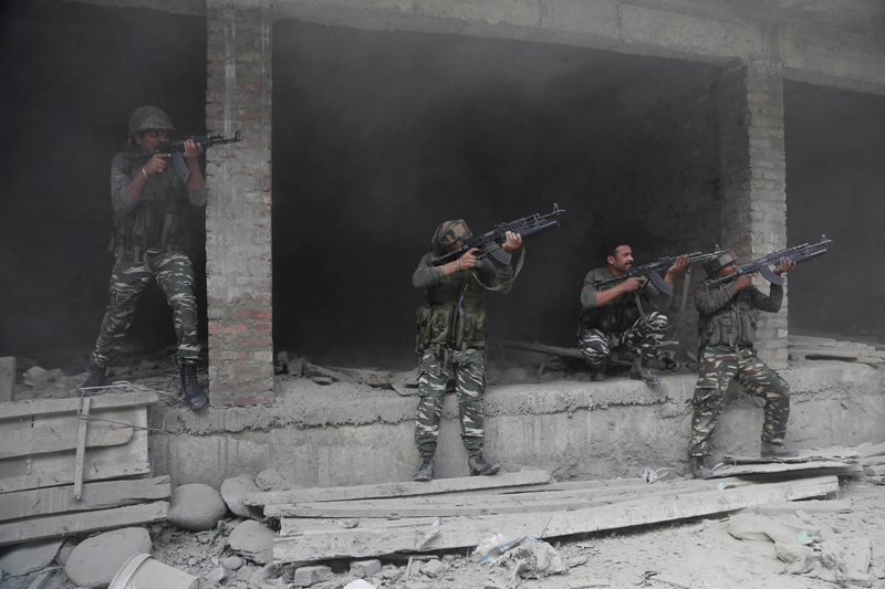 17 soldiers killed in attack at Indian army base in Kashmir