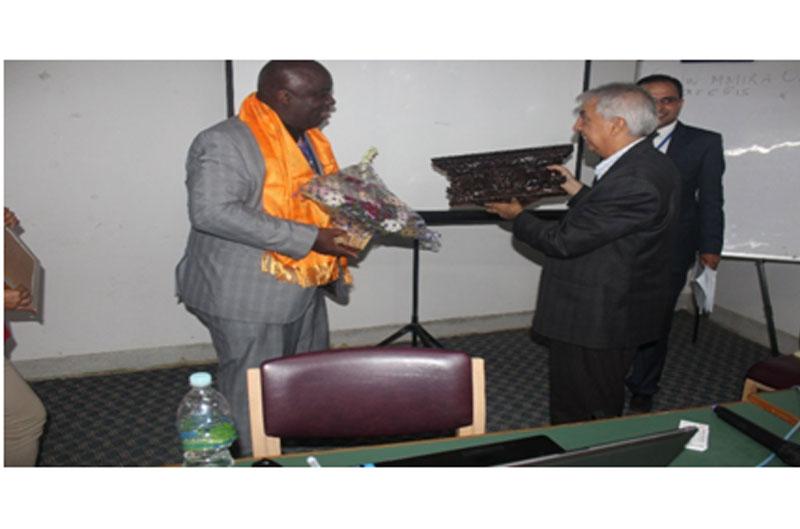 Prof. Dr.Anthony J. Onwuegbuzie felicitated by KU