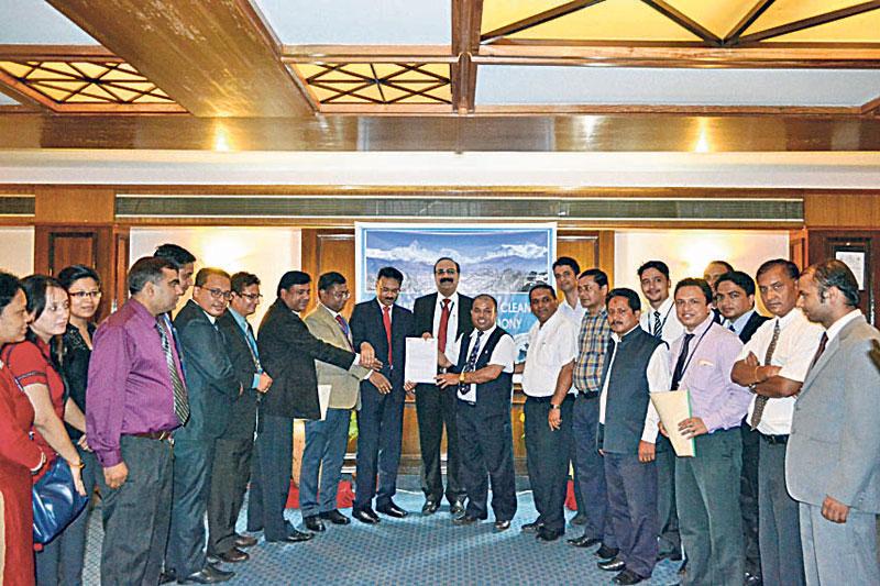Nepal SBI Bank signs MoU to beautify Fewa Lake