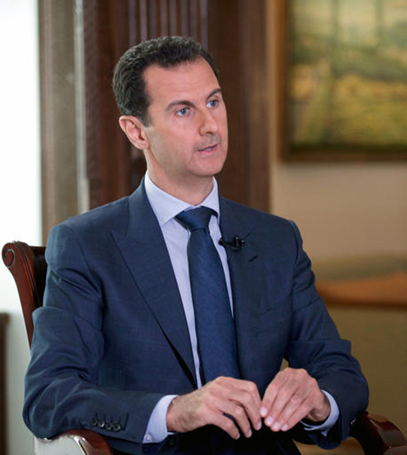 Syrian Prez Assad blames US for Syria truce collapse