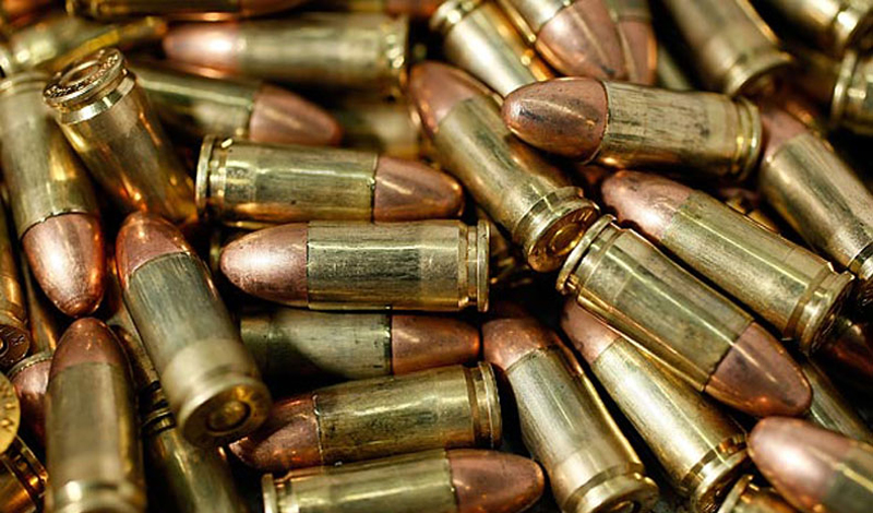 Two held with illegal bullets
