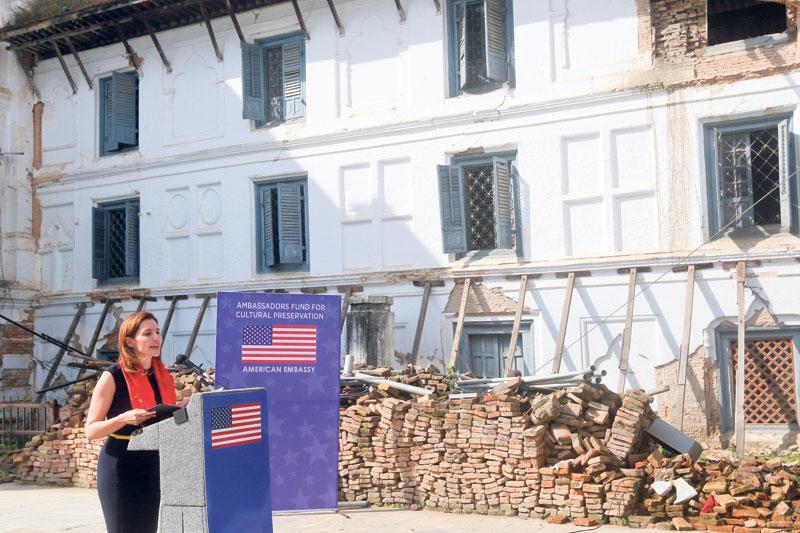 $700,000 US support forGaddhi Baithak restoration