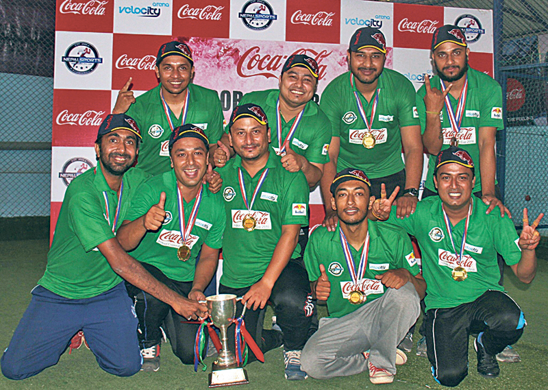 Gorkha Brewery wins indoor cricket