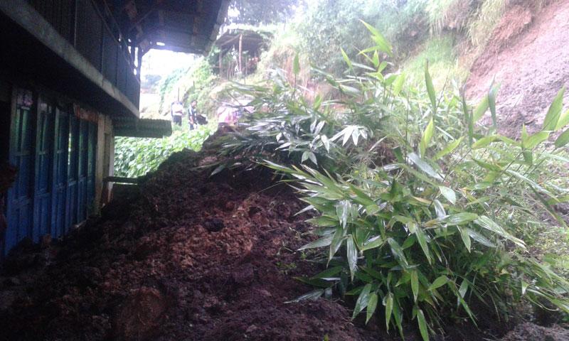 One killed in Taplejung landslide,  dozens displaced