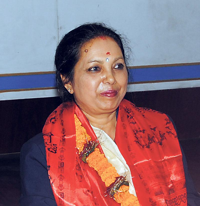 Rajbhandari assumes office at Nepal Telecom