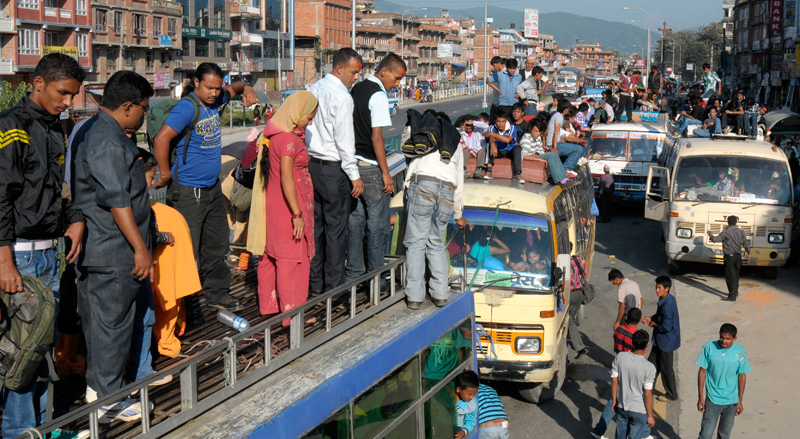 Ticket booking for Dashain festival begins