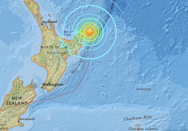 Strong mag-7.1 quake strikes New Zealand but no major damage