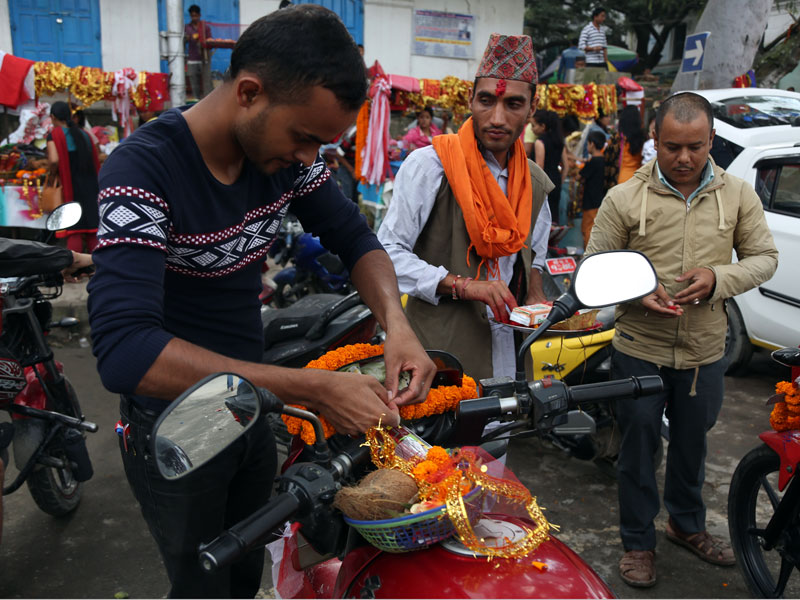 Vishwakarma puja being marked across the country