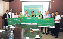 Yeti Airlines gives Rs 306,023 each to four social organizations