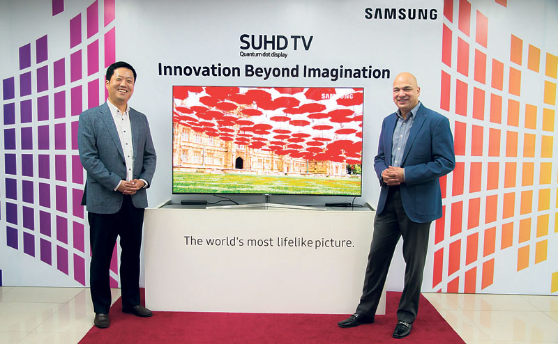 Samsung launches SUHD TV