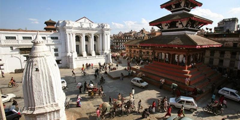 Reconstruction at Basantapur world heritage site starts