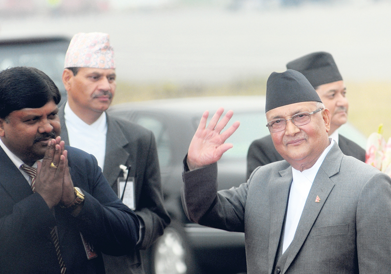 """Visit to China was fruitful,"" PM Oli claims"