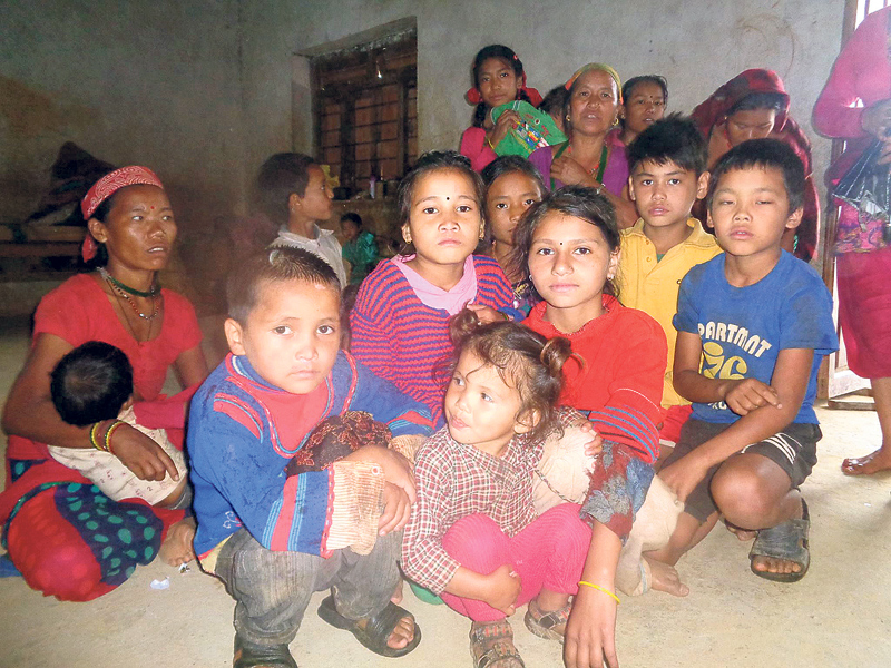 Disaster-hit wary of attending classes