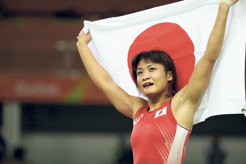 Icho captures 4th historic Olympic gold in wrestling