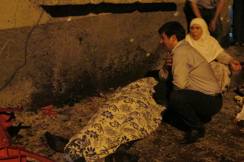 Turkey blames IS for wedding party attack that killed 50