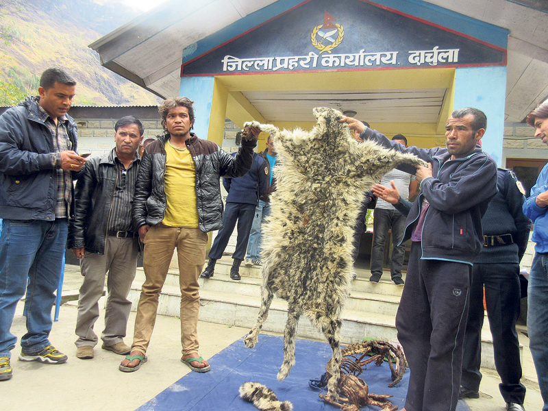 Smuggling thrives along Tinkar border in Darchula