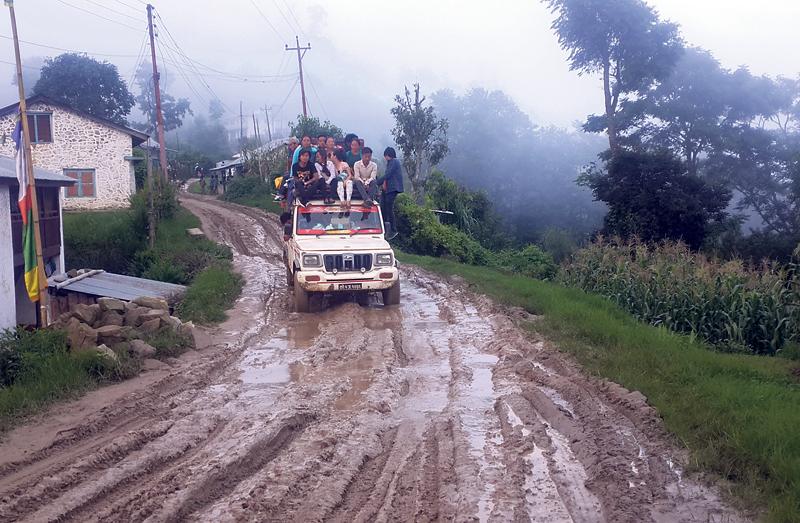 Illegal transport operators thrive in Koshi hills