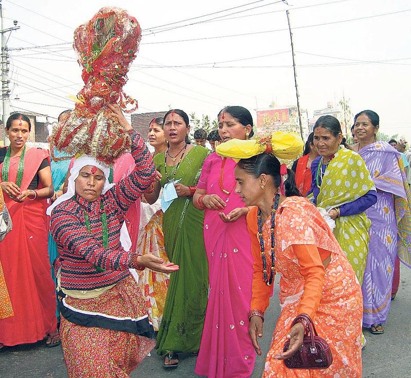 Gaura festival kicks off