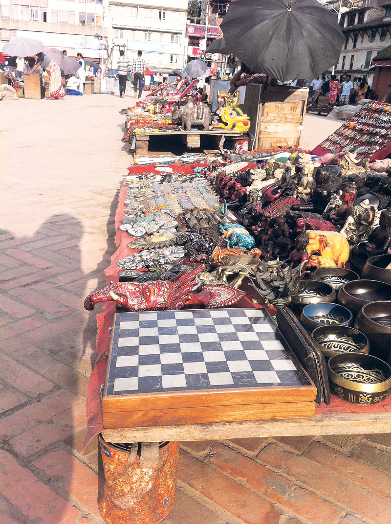 Handicraft sellers worry as high entry fee keeps tourists away