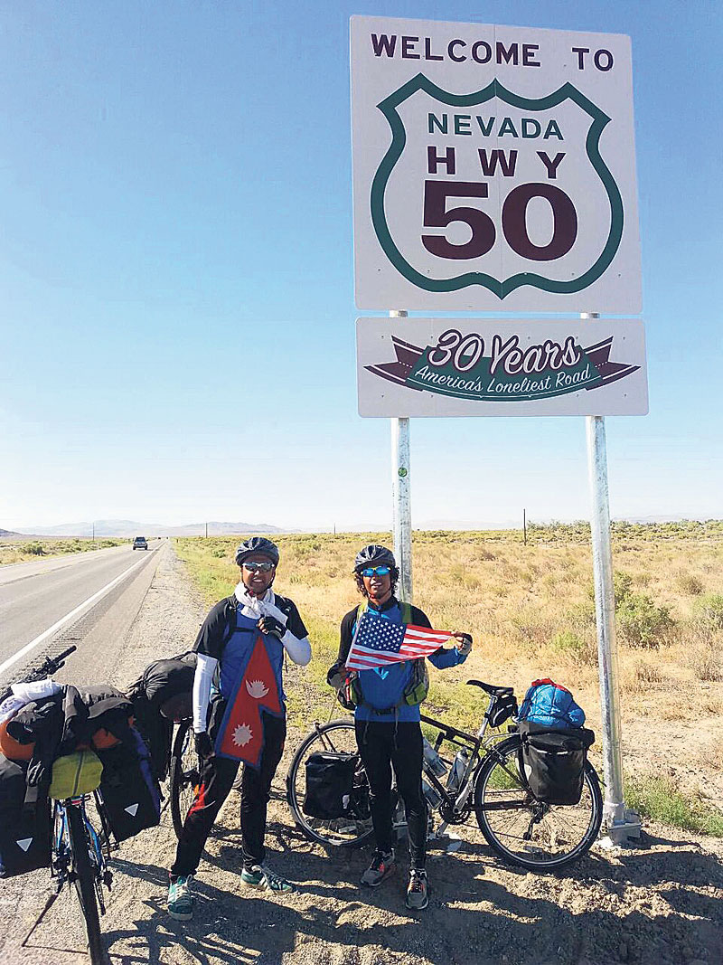Brothers on world bicycle tour to protect environment, fight HIV/AIDS
