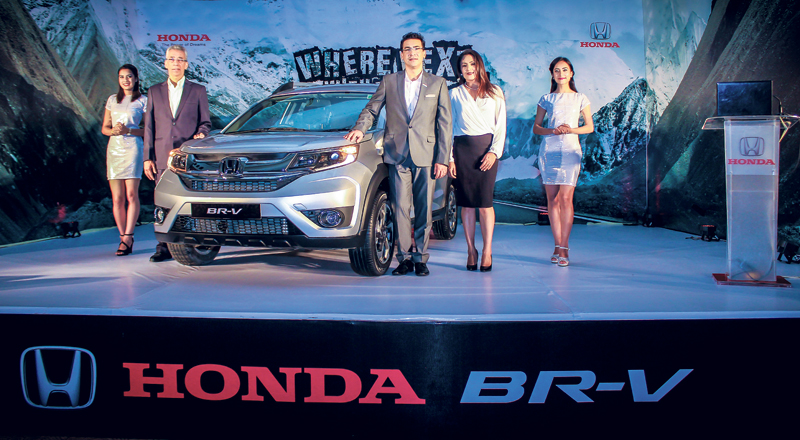 Honda BR-V vrooms its way into Nepal