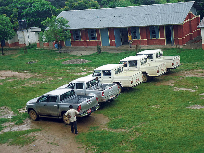 INGOs paying  Rs 80,000  to Rs 180,000 per month to rent a flat in Gorkha
