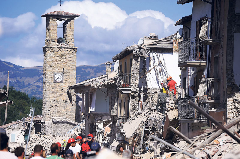 120 killed in Italy earthquake