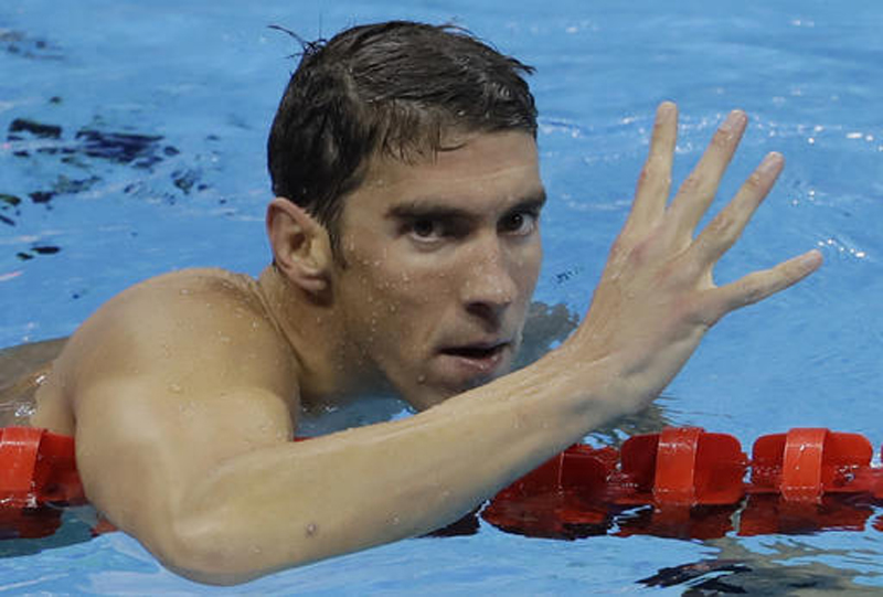 The 22nd Gold for Michael Phelps!