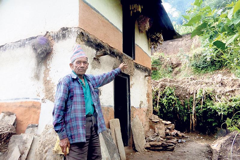 Landslide threatens Khabang village